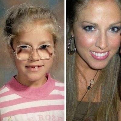 chicas antes despues maquillaje arreglos 14