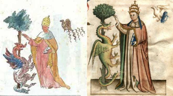 comparacion Vaticinia Summis Pontificibus Nostradamus 2