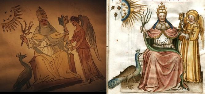 comparacion Vaticinia Summis Pontificibus Nostradamus 4