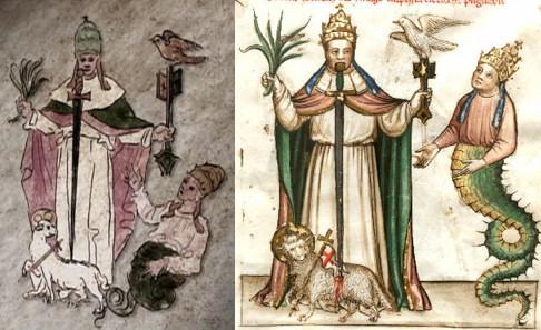 comparacion Vaticinia Summis Pontificibus Nostradamus 5