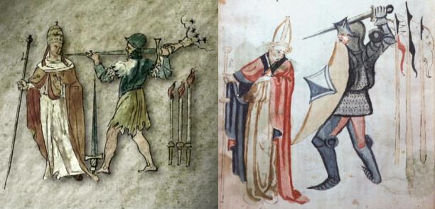 comparacion Vaticinia Summis Pontificibus Nostradamus