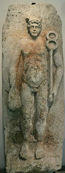 estatua figura mercurio mitologia