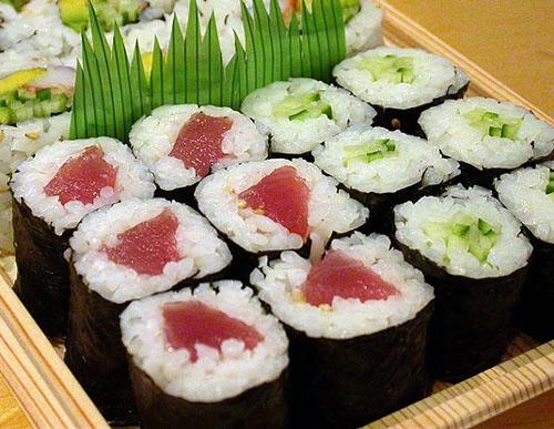 hosomaki sushi delgado un relleno