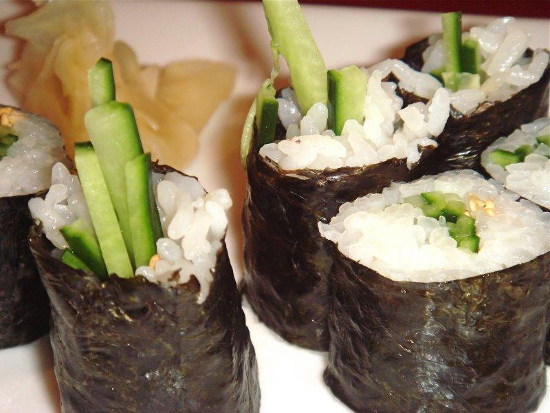 kappamaki sushi nori pepino