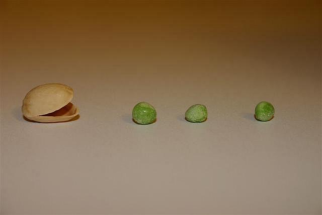 pacman organico pistachos guisantes