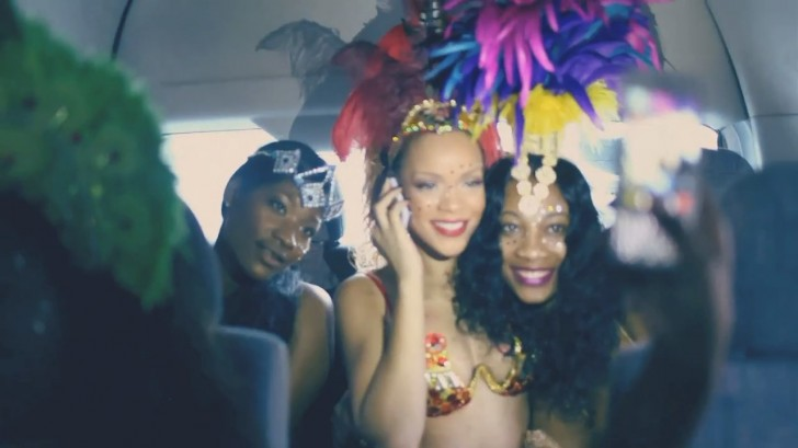 rihanna cheers video