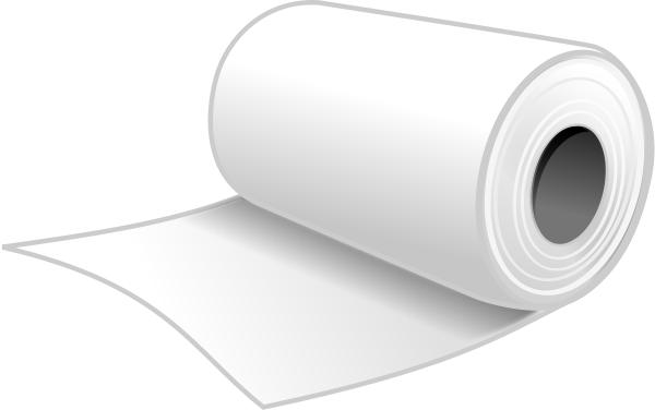 rollo papel higienico celulosa polimero
