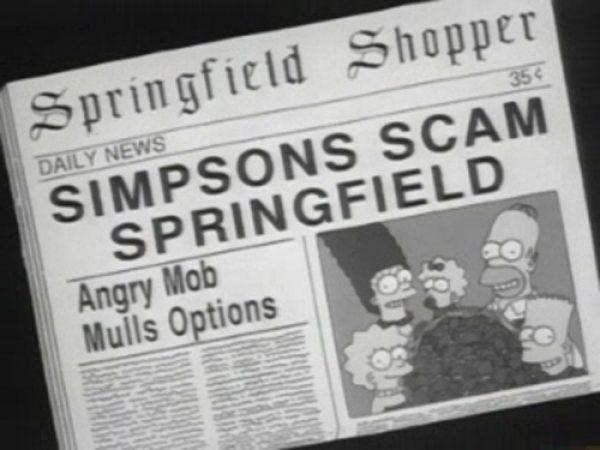 titulares noticias periodico simpson 34