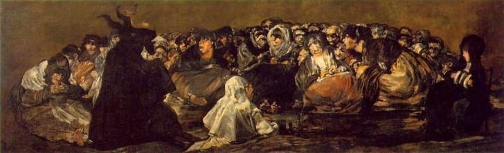 El Aquelarre Goya 1821-1823
