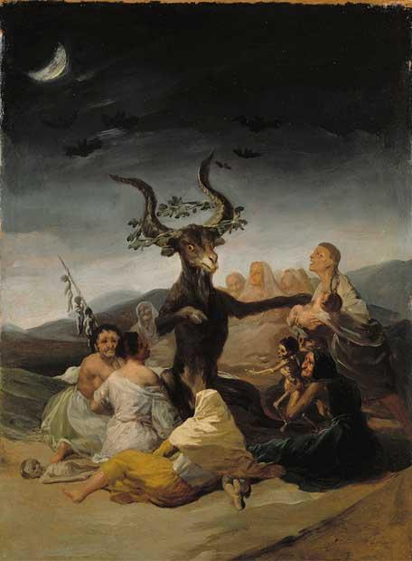 El aquelarre goya 1798