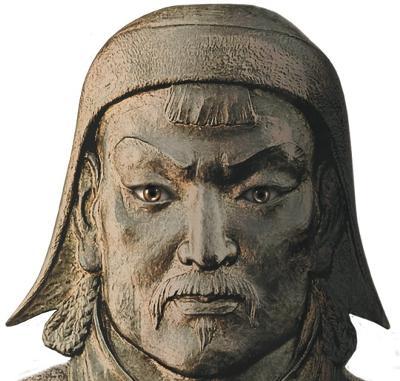 Genghis Khan kan temudjin figura
