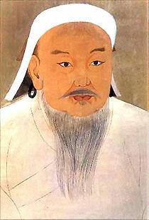 Genghis Khan kan temujin pintura