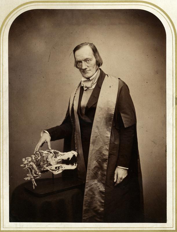 Richard Owen zoologo dinosaurios