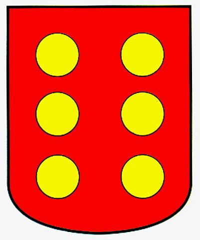 banos baños apellido escudo armas