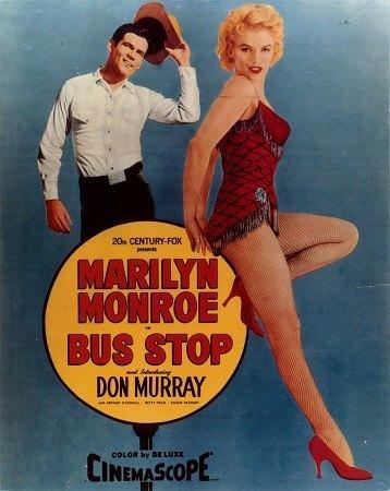bus stop marilyn monroe