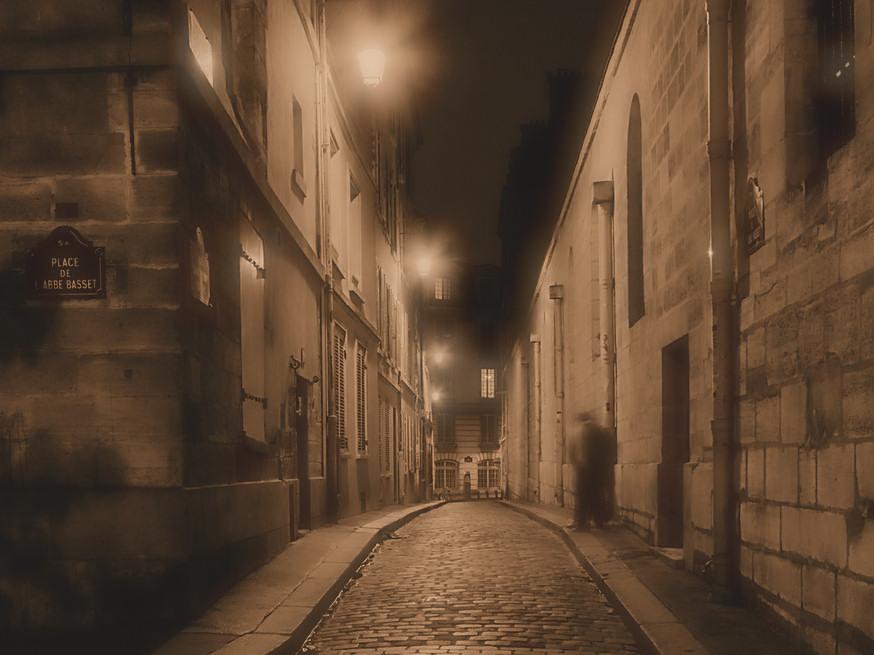 calle oscura
