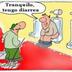 chiste diarrea humor grafico