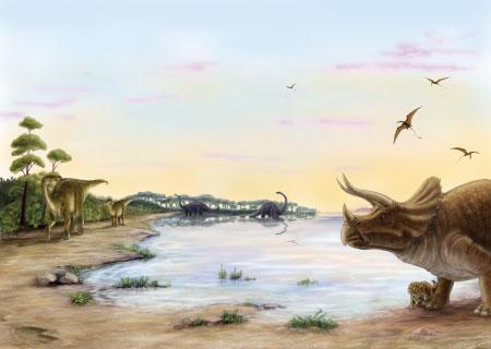 dinosaurios cretacico