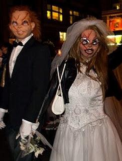disfraces disfraz traje halloween chucky novia