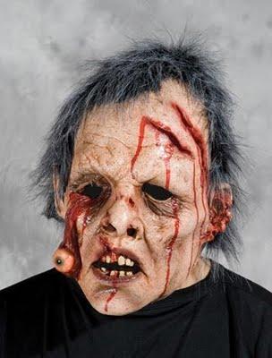 disfraces disfraz traje halloween mascara ojo colgando