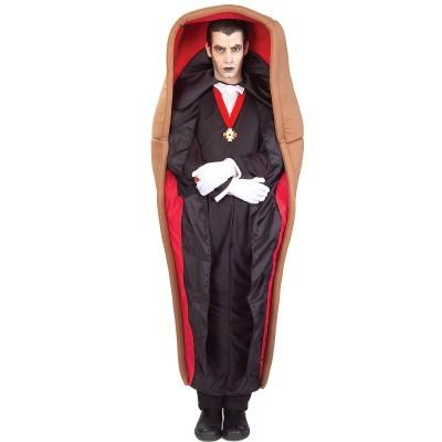 disfraces disfraz traje halloween vampiro ataud