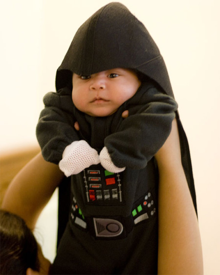 disfraz disfraces halloween divertidos darth vader bebes