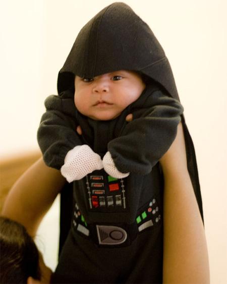 disfraz disfraces halloween divertidos darth vader bebes
