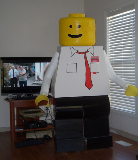 disfraz disfraces halloween divertidos lego