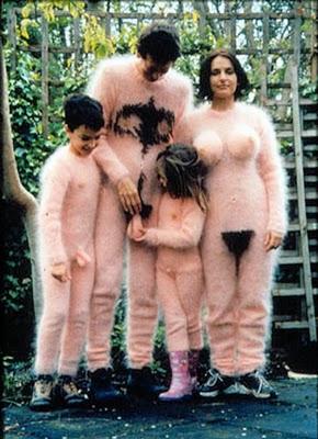 disfraz disfraces halloween originales familia desnuda