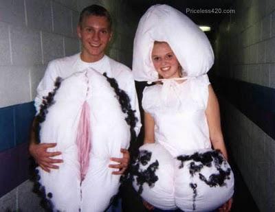 disfraz disfraces halloween originales pene vagina