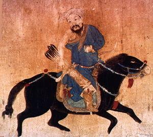 gengis khan kan caballo guerrero conquistador