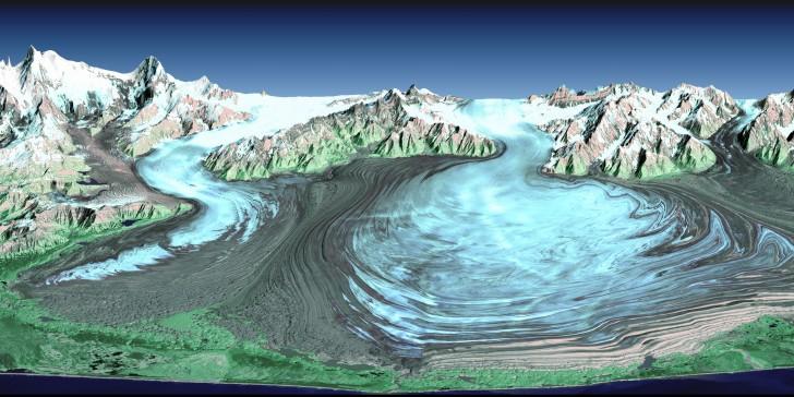 glaciar de Malaspina Alaska