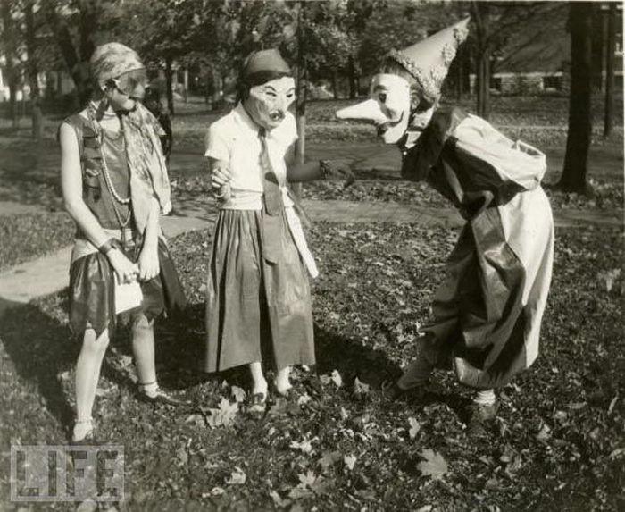 halloween evolucion anos antes despues 80