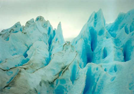 hielo glaciar perito moreno