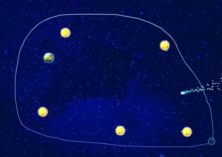 juego planet cruncher agrupar espacio