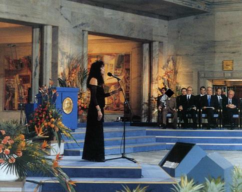 ofra haza Nobel paz peace