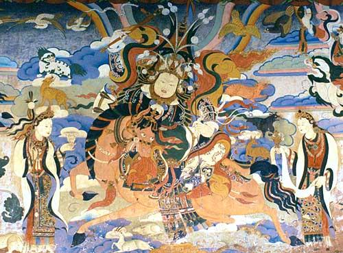 rey tibet Gesar Gruschke