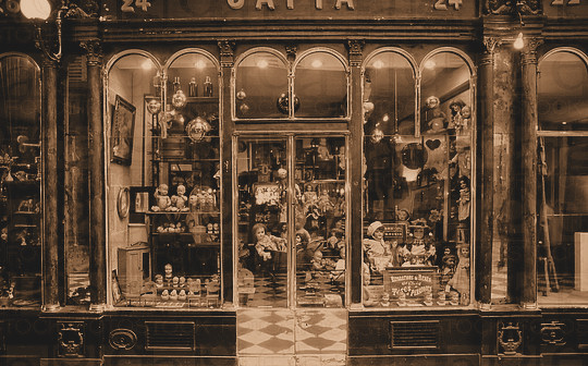 tienda antiguedades miedo