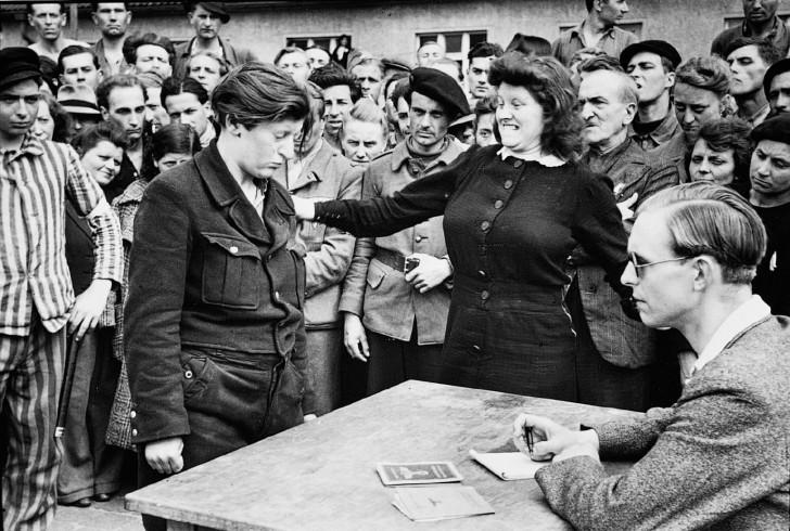 Henri Cartier Bresson Gestapo Informer Dessau Germany 1945