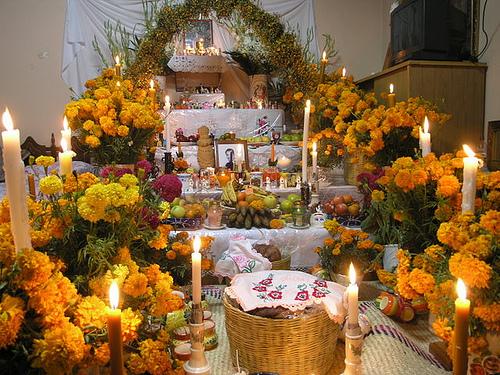 altar dia de los muertos 2 noviembre