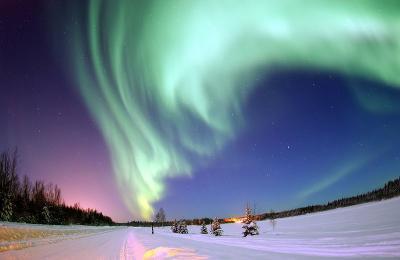 aurora boreal tormenta solar