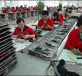 china fabrica trabajadores chinos