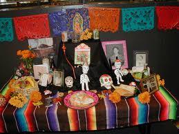 dia muertos mexico altar animas purgatorio