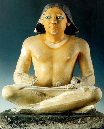 escriba sentado egipto