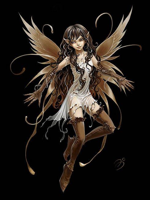 ilustraciones imagenes pin up femeninas goticas misticas 4