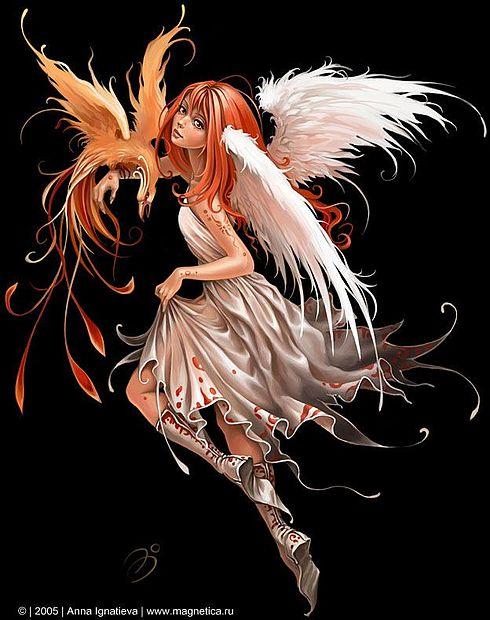 ilustraciones imagenes pin up femeninas goticas misticas 5
