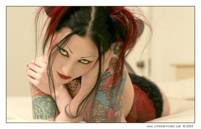 imagenes pin up femeninas goticas misticas 0