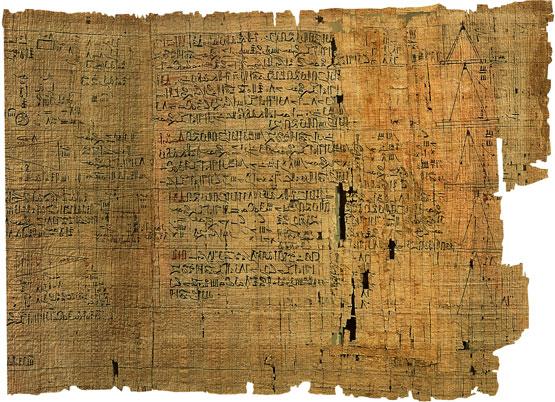 papiro rhind calculo matematicas egipto