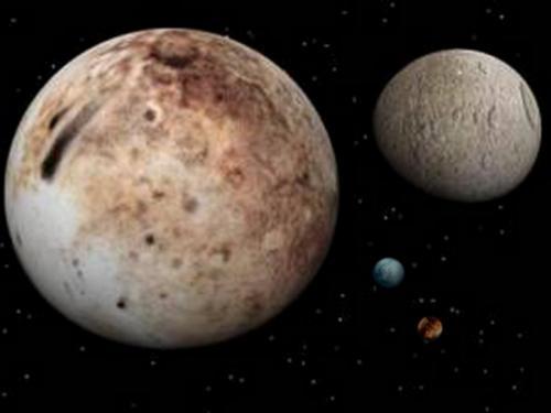 pluton lunas caronte nix hidra