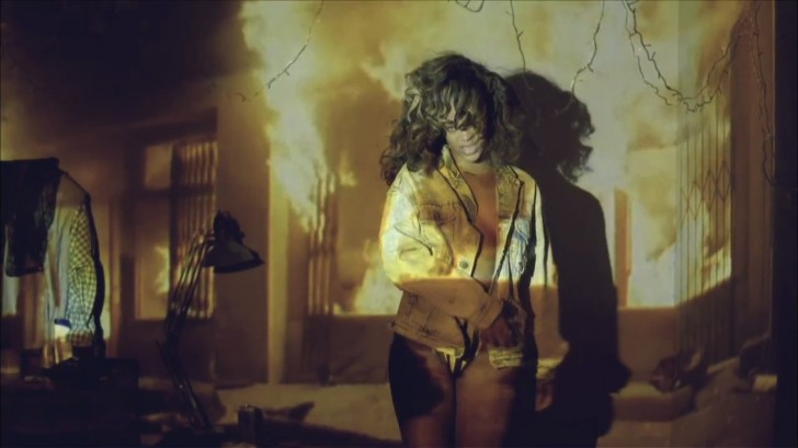 rihanna we found love video